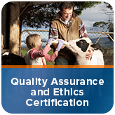 Quality Assurance and Ethics Certification