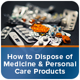 How to Dispose of Unwanted Medicine & Personal Care Products