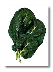 ... to eat collards. I think she said it would make them taste sweeter